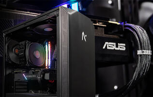 Aftershock's Shadow silent PC is part of a new series powered entirely by ASUS hardware