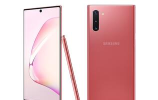 Get the Aura Pink Samsung Galaxy Note10 from 9th November!
