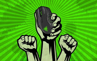 The left-handed edition of Razer's Naga MMO gaming mouse is coming back in 2020