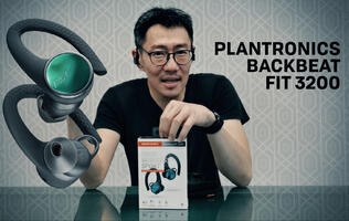 Plantronics BackBeat FIT 3200/6100 Video Review - Part 1