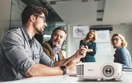 BenQ smart projector removes the need of a PC for easier collaboration