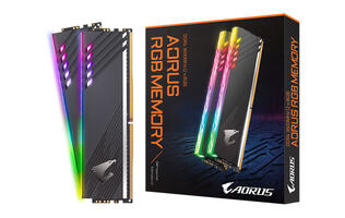 Gigabyte upgrades its Aorus RGB memory with more LEDs and faster speeds