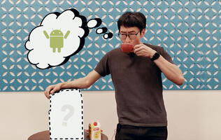 This coffee machine is like an Android smartphone?