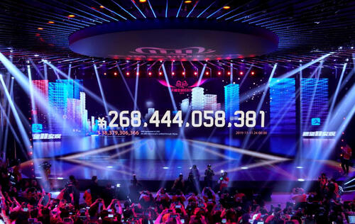 Alibaba shoppers spent over US$38.4 billion on Singles' Day