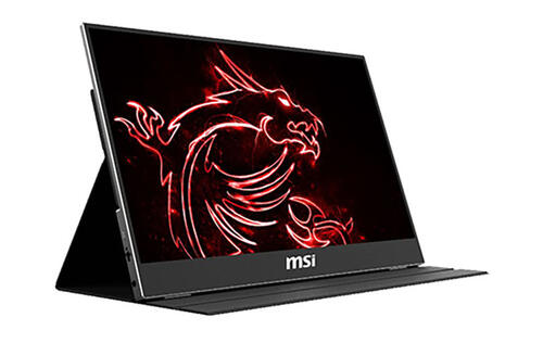 MSI will show off a portable 240Hz IPS gaming display at CES 2020
