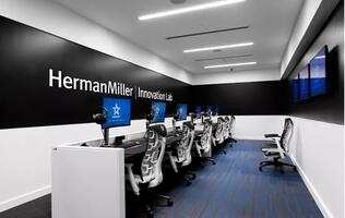 Furniture company Herman Miller is Complexity Gaming's official seating partner