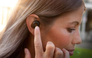 The lightweight S1 True Wireless earbuds are the latest from Klipsch