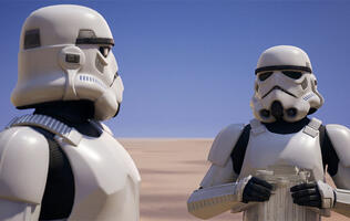 Here's how you can get Fortnite's new Imperial Stormtrooper skin