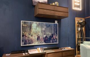 Samsung and Commune sign a deal to turn Samsung's premium TVs into works of art