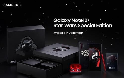 Samsung unveils Galaxy Note10+ Star Wars Special Edition