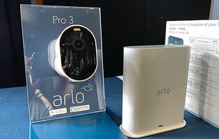 The Arlo Pro 3 is a wireless security camera system that shoots at 2K and has loads of features