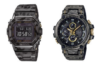 The Casio G-Shock GMW-B5000 and MTG-B1000 now come in fashionable digital camo colourways