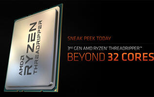 The AMD Threadripper 3990X is a crazy 64-core chip with a 280W TDP