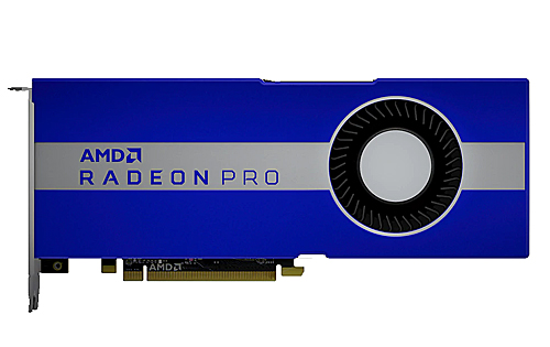 AMD has launched Radeon Pro W5700, its first 7nm RDNA-based professional graphics card