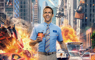 Ryan Reynolds is a videogame NPC in the first trailer for Free Guy