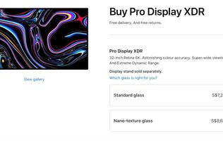 You need a special cloth to clean Apple's Pro Display XDR