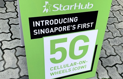 StarHub shows plans to bring 5G to the masses with 5G pop-up COWs *updated*