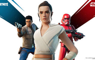 Fortnite is getting a Rey skin and other Star Wars goodies