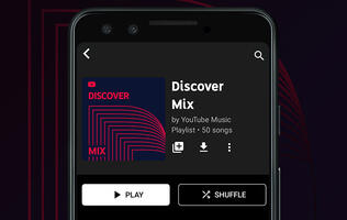 YouTube Music rolls out new personalised Discover Mix playlist that's just like Spotify