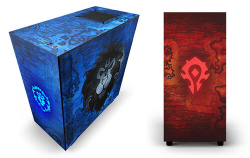 These super limited edition NZXT H510 World of Warcraft cases are for the game's biggest fans