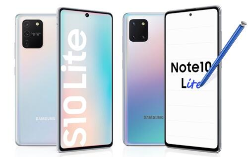 Samsung unveils the Galaxy S10 Lite and Note10 Lite