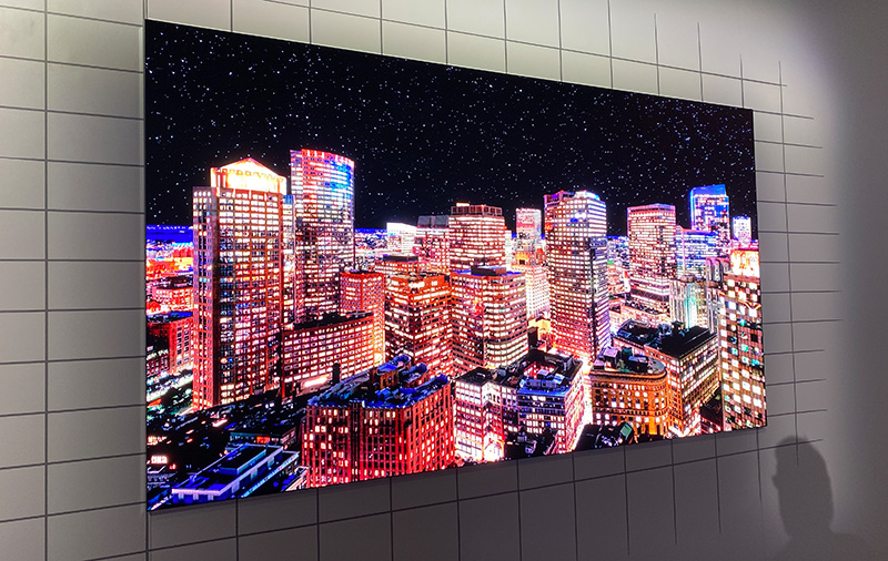 Samsung reveals full MicroLED TV lineup at CES 2020, fixed size consumer models coming soon