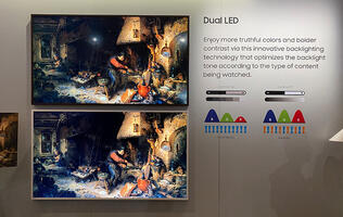 Samsung's midrange QLED 4K TVs are getting a dual-LED backlight to improve contrast and colours