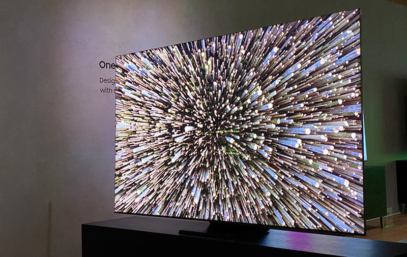 Samsung has deleted the bezels from its Q950TS QLED 8K TV