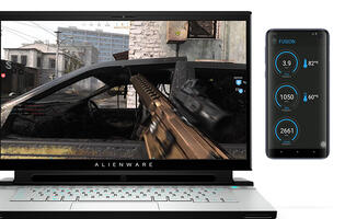 Alienware's Second Screen concept software could display your in-game inventory on your phone
