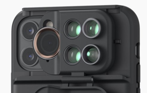 ShiftCam cases let you add up to five extra lenses on the iPhone 11 and 11 Pro
