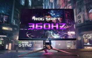 The ASUS ROG Swift 360Hz G-Sync monitor is a pro gamer's dream