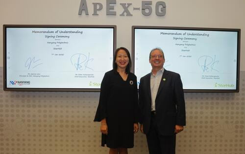 Starhub partners with NYP to showcase 5G industrial solutions