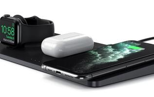 Satechi unveils Trio Wireless Charging Pad for iPhone, Apple Watch and AirPods