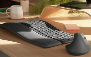 Logitech's Ergo K860 split keyboard is a lot easier on your wrists