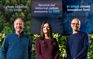 Microsoft wants to be carbon negative by 2030 and remove all the carbon it has ever produced by 2050