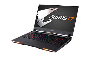 The Aorus 17 is a powerful desktop replacement with a mechanical keyboard