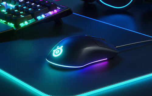 SteelSeries' new budget-friendly Rival 3 mouse has 'crazy bright' LEDs