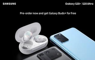 Pre-order gift for the upcoming Samsung Galaxy S20+ and S20 Ultra revealed