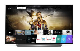 LG's 2019 TVs are finally getting the Apple TV app