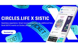 Circles.Life and Sistic have unveiled a new event booking experience