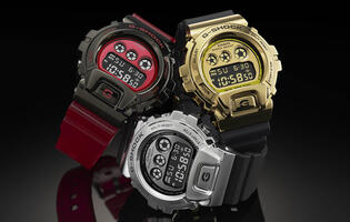 Here are the watches Casio is releasing to celebrate the 25th anniversary of the G-Shock 6900 series