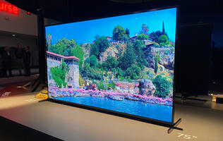 Sony's new Z8H 8K TV uses its frame to create sound