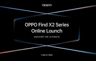 Oppo to launch its flagship 5G smartphone, the Find X2 on 6 March