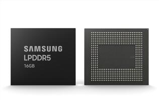 Samsung begins mass production of 16GB LPDDR5 RAM