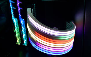 Lian Li's Strimer Plus RGB extension cables pack up to 120 LEDs