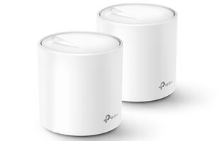 The Deco X20 and X60 are TP-Link's newest Wi-Fi 6 mesh networking systems