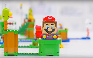 LEGO Super Mario has been revealed and it is weirdly awesome
