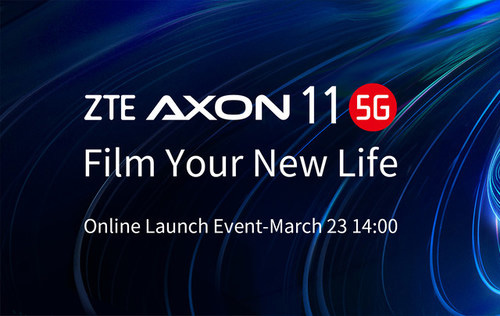 ZTE to launch Axon 11 5G smartphone tomorrow on 23 March