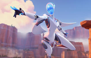 Overwatch's latest hero might actually be a tad overpowered