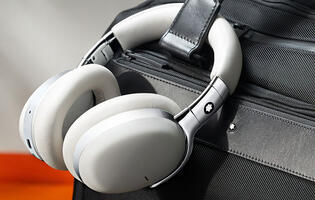 Montblanc now has a wireless active noise-cancelling headphone called the MB 01